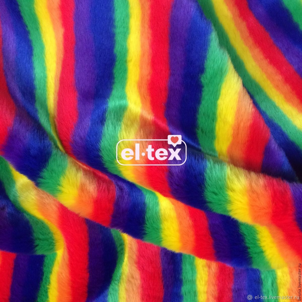 Ecomech 'RAINBOW' 5 colors from 0,5 g. m, Fabric, Moscow,  Фото №1
