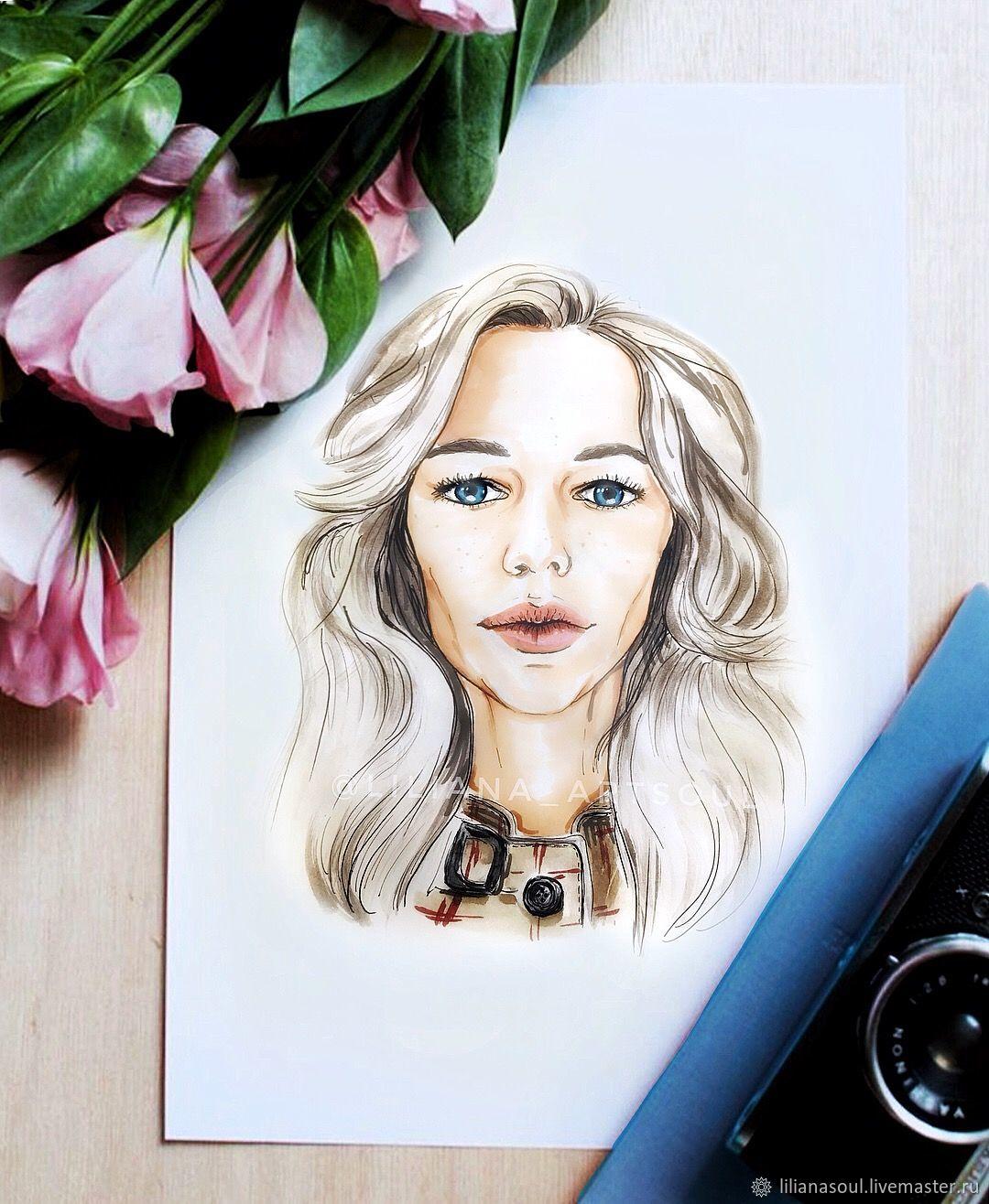 Заказать портрет с фотографии, Портрет на заказ в Люберцах и 30