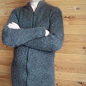 Одежда handmade. Livemaster - original item Men`s jacket down zip Suite. Handmade.