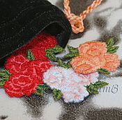 Материалы для творчества handmade. Livemaster - original item embroidery appliques for scrap and apparel rose rosette patch chevron. Handmade.
