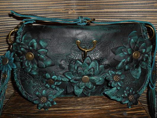 Женские сумки ручной работы. Ярмарка Мастеров - ручная работа. Купить Сумка - клатч   женский из натуральной кожи. Handmade. стильный