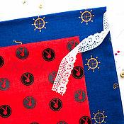 Материалы для творчества ручной работы. Ярмарка Мастеров - ручная работа (№63)Ткань сатин хлопок 100% для тильд, шитья и пэчворка. Handmade.