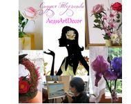 Цветочный калейдоскоп (LediArtDecor) - Ярмарка Мастеров - ручная работа, handmade