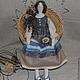 """Куклы Тильды ручной работы. Ярмарка Мастеров - ручная работа. Купить Тильда """"Амалия"""". Handmade. Тильда, интерьерная кукла, лён"""