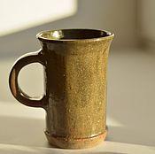 """Посуда ручной работы. Ярмарка Мастеров - ручная работа Кружка """"зеленое золото"""". Handmade."""