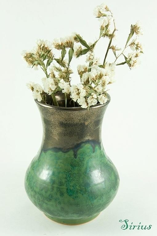 """Вазы ручной работы. Ярмарка Мастеров - ручная работа. Купить Ваза """"Мадагаскар 2"""". Handmade. Ваза, ваза для сухоцветов, Керамика"""