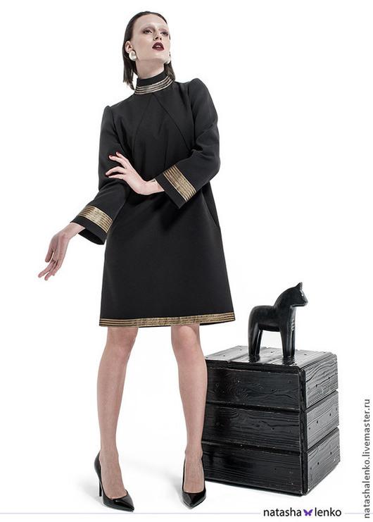 Платья ручной работы. Ярмарка Мастеров - ручная работа. Купить Платье. Handmade. Черный, платье, офисный, Платье нарядное