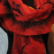 """Аксессуары ручной работы. Ярмарка Мастеров - ручная работа Палантин """"Кармен"""". Handmade."""