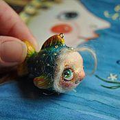 Украшения ручной работы. Ярмарка Мастеров - ручная работа Маруся... Девочка-рыбка:). Handmade.
