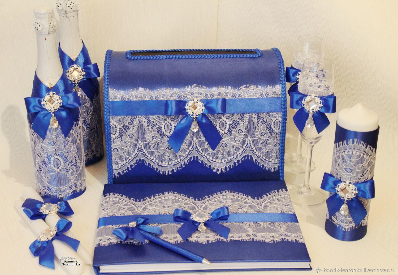Wedding set of 'aquamarine', Sets accessories, Moscow,  Фото №1