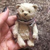 Мягкие игрушки ручной работы. Ярмарка Мастеров - ручная работа Медвежонок по имени Одуванчик. Handmade.