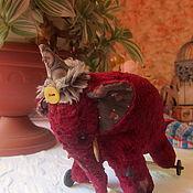 Куклы и игрушки handmade. Livemaster - original item elephant Bo. Handmade.