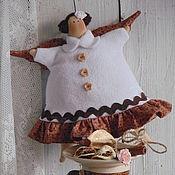 Куклы и игрушки ручной работы. Ярмарка Мастеров - ручная работа Тильда Пирожный Ангел.. Handmade.