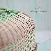 Для дома и интерьера ручной работы. Ярмарка Мастеров - ручная работа Большая плетеная хлебница. Handmade.