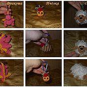Куклы и игрушки ручной работы. Ярмарка Мастеров - ручная работа Погремушки. Handmade.