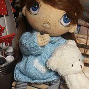 """Куклы и игрушки ручной работы. Ярмарка Мастеров - ручная работа """"Сердце Зимы"""" свитер для игрушки. Handmade."""