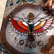 handmade. Livemaster - original item Bird Mountain Pendant (P-113). Handmade.