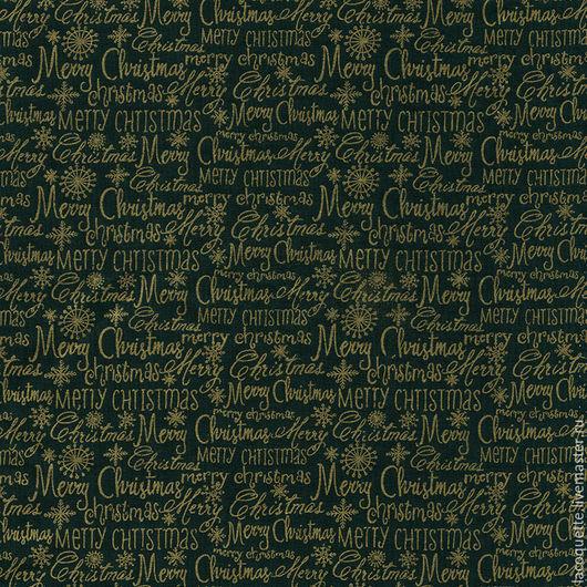 """Шитье ручной работы. Ярмарка Мастеров - ручная работа. Купить Германия Ткань для пэчворка """"Рождество"""". Handmade. Новогодняя ткань"""