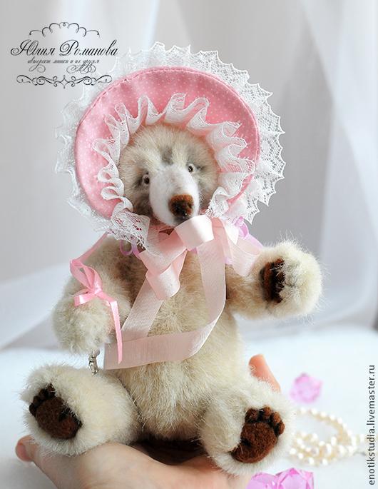 Мишки Тедди ручной работы. Ярмарка Мастеров - ручная работа. Купить медведица Куколка. Handmade. Белый, кукла, кружева