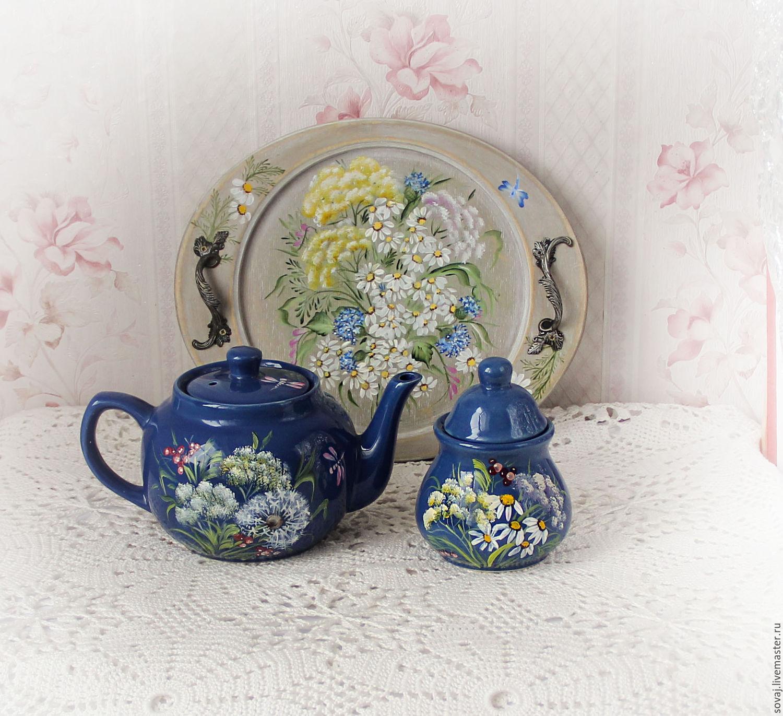 картинки заварочных чайников декупаж последние