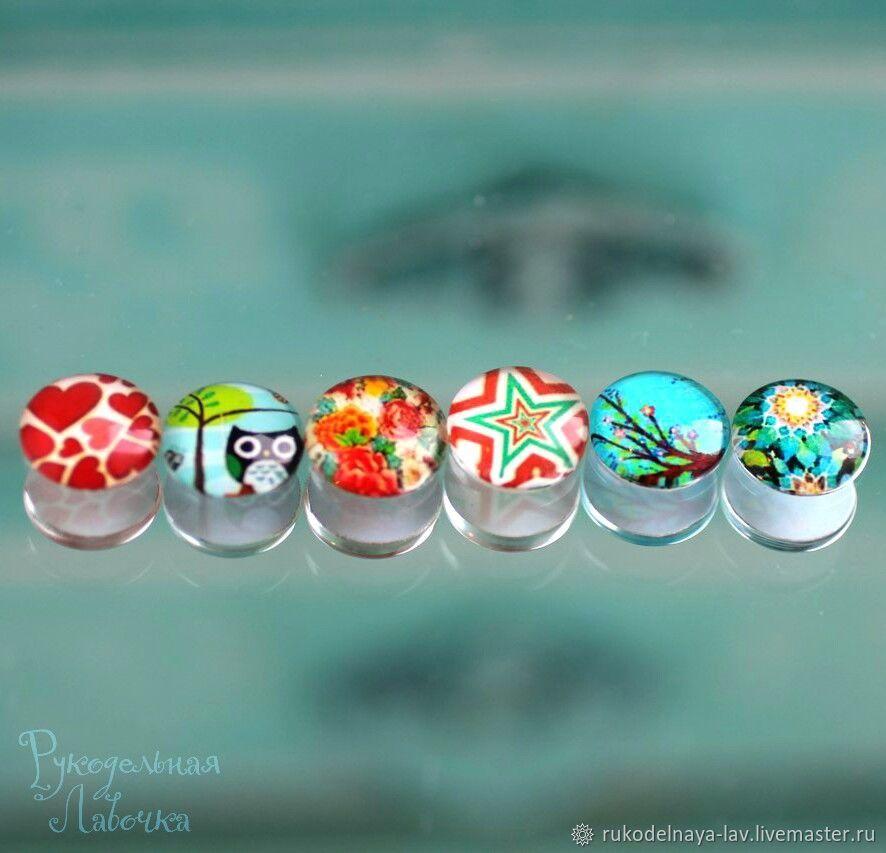 Кабошон стеклянный 12 мм, Кабошоны, Великий Новгород,  Фото №1