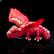 Украшения handmade. Livemaster - original item Brooch dragon