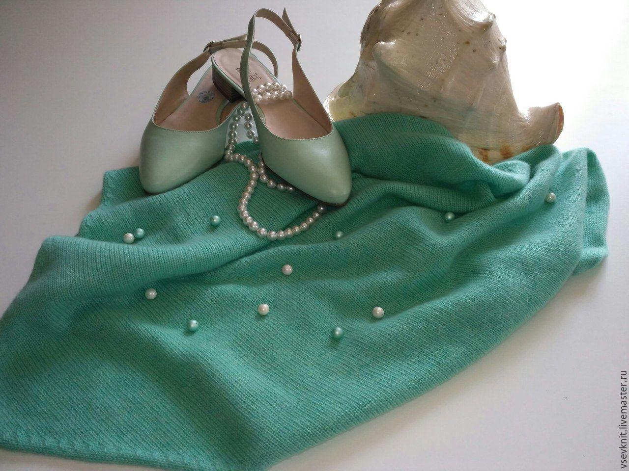 100% cashmere Tiffany scarf, Shawls1, St. Petersburg,  Фото №1
