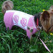 Зоотовары handmade. Livemaster - original item Summer jumpsuit for chihuahua, York, toy, rat cat made of cotton. Handmade.