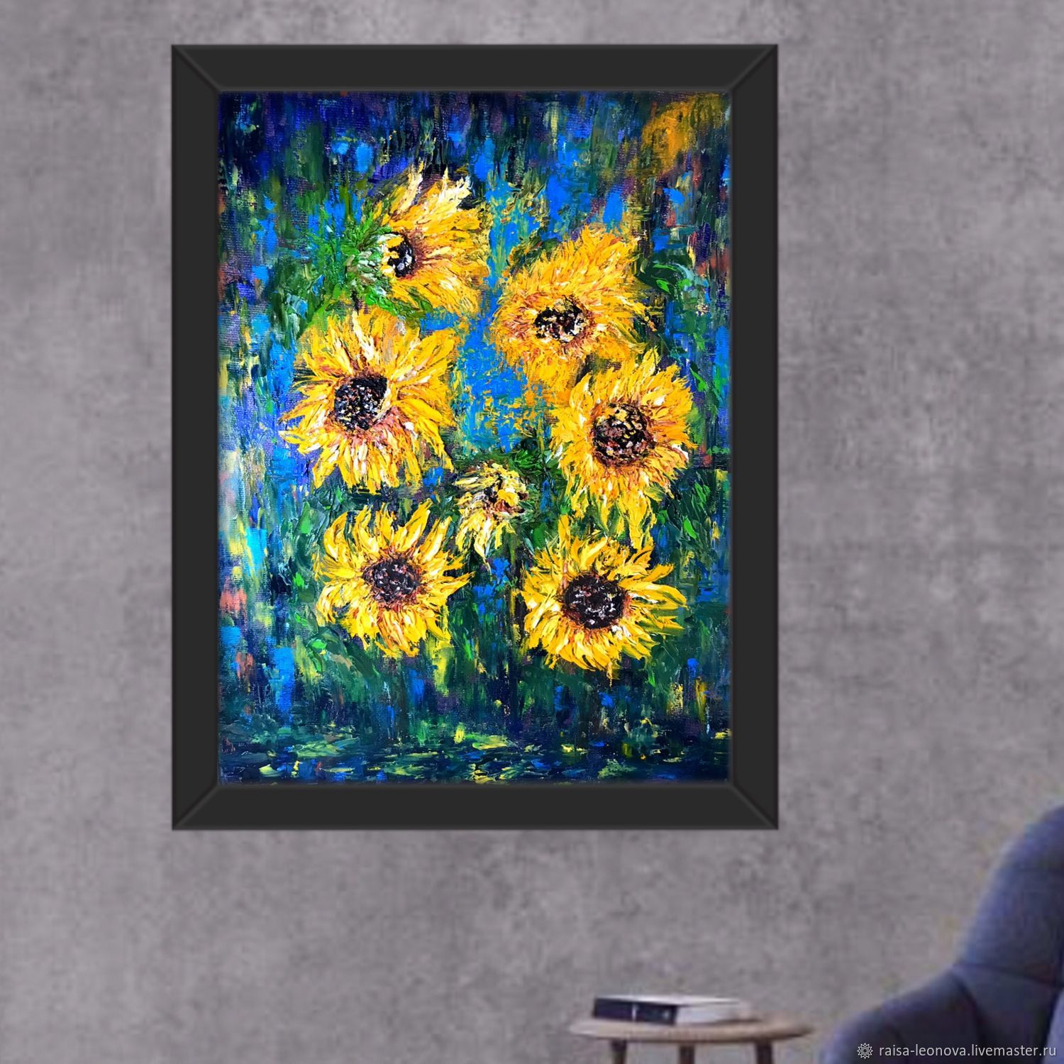 Paintings: sunflowers, Pictures, Sopot,  Фото №1