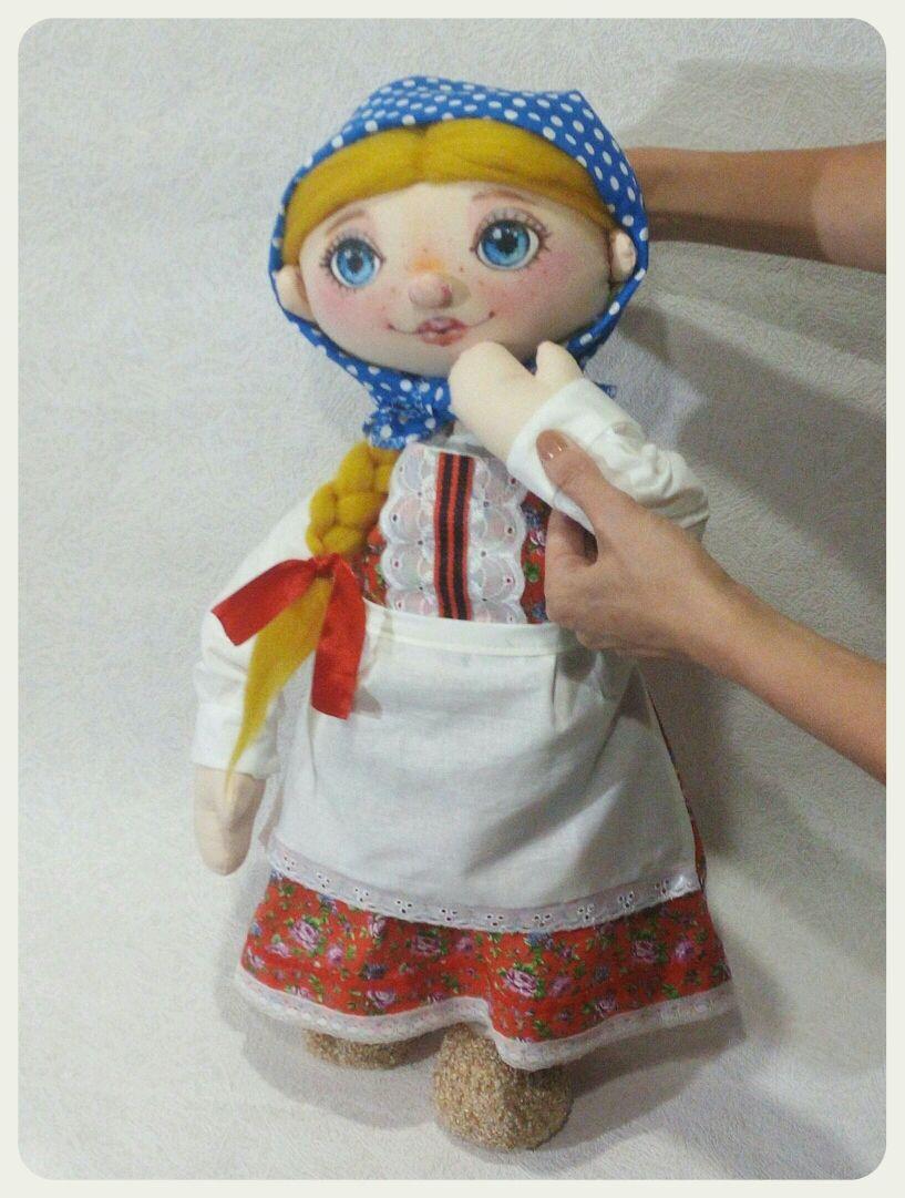 Кукольный театр. Планшетная кукла Машенька, Кукольный театр, Орел,  Фото №1