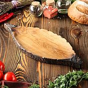 """Доски ручной работы. Ярмарка Мастеров - ручная работа """"Хачапури"""" блюдо авторское из массива дуба.. Handmade."""