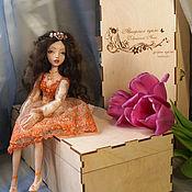 Куклы и игрушки ручной работы. Ярмарка Мастеров - ручная работа Куколка болтушка. Handmade.