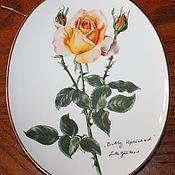 Винтаж handmade. Livemaster - original item Delightful, collectible saucer