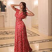 """Одежда handmade. Livemaster - original item """"Порхание Бабочки""""  шелковое платье. Handmade."""