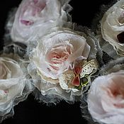 """Украшения ручной работы. Ярмарка Мастеров - ручная работа Украшение """"Роза"""". Handmade."""