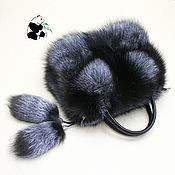 Сумки и аксессуары handmade. Livemaster - original item Silver Fox fur bag. Stylish ladies ` accessory №9. Handmade.