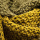 Knitted Snood scarf 'Green pieces' Snood unisex. Scarves. asmik (asmik). My Livemaster. Фото №6