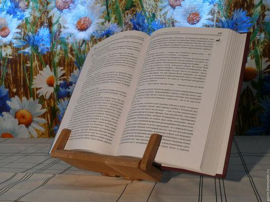 Мебель ручной работы. Ярмарка Мастеров - ручная работа. Купить Подставка для книги. Handmade. Подставка для книг, канцтовары, подставка для учебников