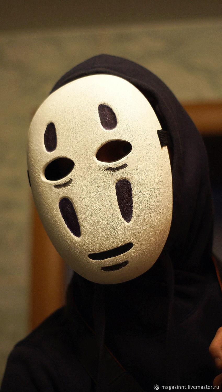 Kaonashi Mask No Face Faceless Mask Spirited Away Animation Mask Kupit Na Yarmarke Masterov Eq8w5com Karnavalnye Maski Moscow
