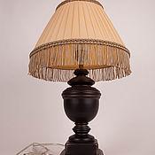 handmade. Livemaster - original item Table lamp WITH silk ribbon shade. Handmade.