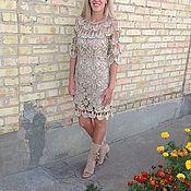Одежда ручной работы. Ярмарка Мастеров - ручная работа Платье Парижаночка. Handmade.