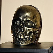 Субкультуры handmade. Livemaster - original item The skull crossbody Bag. backpack. Hip bag.. Handmade.