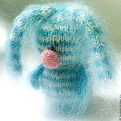 Куклы и игрушки ручной работы. Ярмарка Мастеров - ручная работа Самый грустный в мире Зайка. ( Вязаные игрушки зайцы ). Handmade.