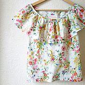 """Одежда ручной работы. Ярмарка Мастеров - ручная работа Блуза """"Цвет"""". Handmade."""