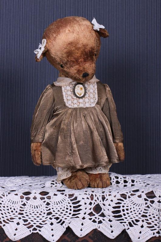 Мишки Тедди ручной работы. Ярмарка Мастеров - ручная работа. Купить Лизонька. Handmade. Бежевый, плюшевая игрушка, плюш винтажный