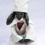 Куклы и игрушки ручной работы. Ярмарка Мастеров - ручная работа Тильда-кукла  Акушерка. Handmade.