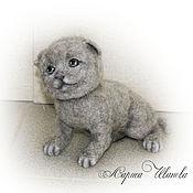 Куклы и игрушки ручной работы. Ярмарка Мастеров - ручная работа Британский котик. Handmade.