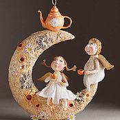 Куклы и игрушки ручной работы. Ярмарка Мастеров - ручная работа Ромашковый чай - светильник. Handmade.