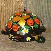 Русский стиль ручной работы. Ярмарка Мастеров - ручная работа Шкатулка черепашка на заказ. Handmade.