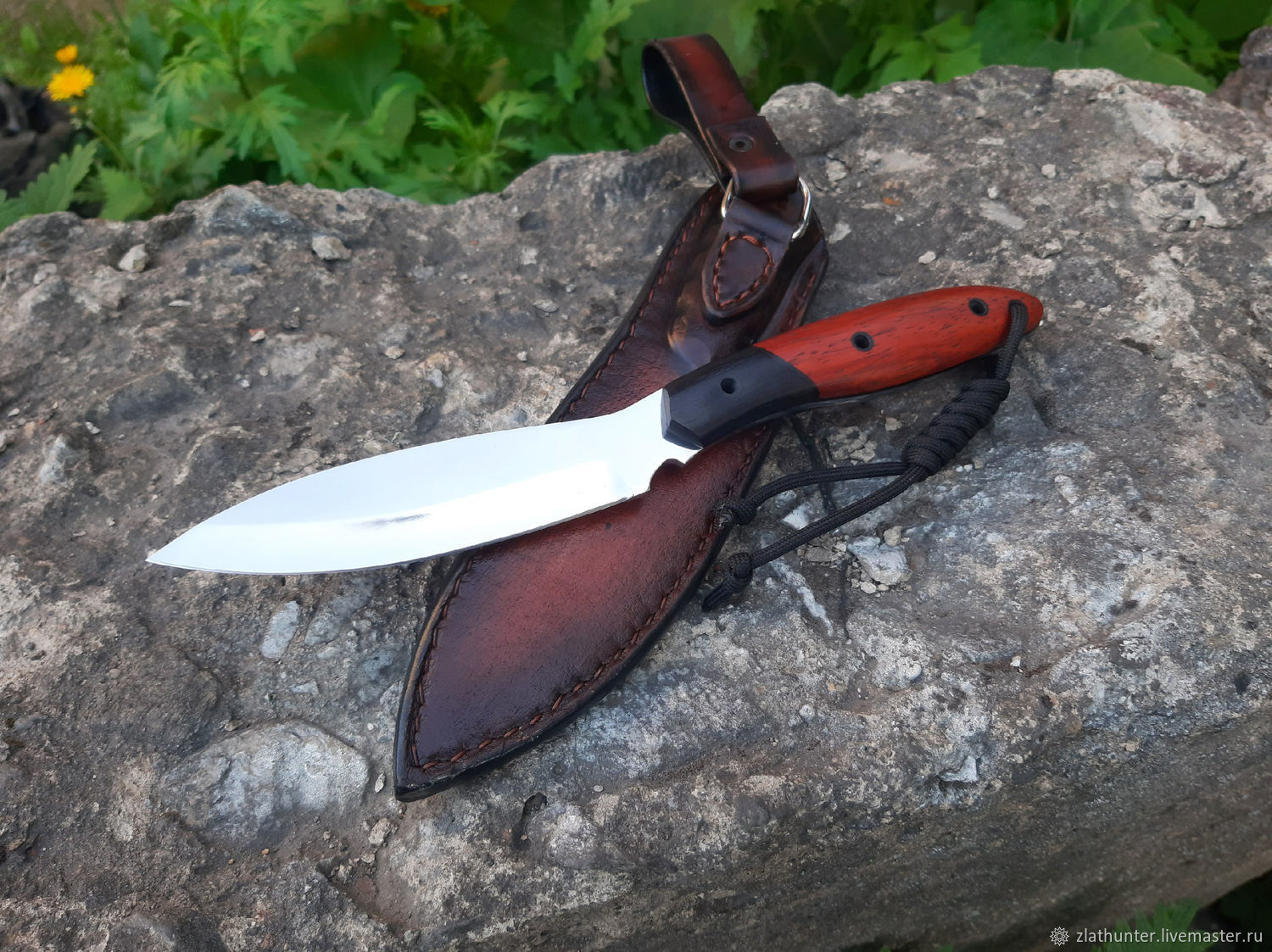 Canadian trapper's knife (forged steel h12mf), Knives, Chrysostom,  Фото №1